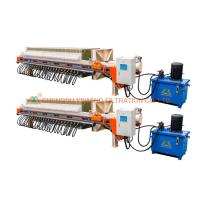Buy cheap Large Area Filtration Filter Press , Wastewater Filter Press Hydraulic Type from wholesalers