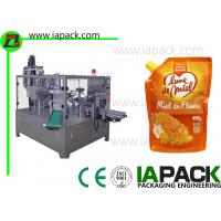 Buy cheap 450g Honey Doypack Liquid Pouch Packaging Machines High Frequency from wholesalers