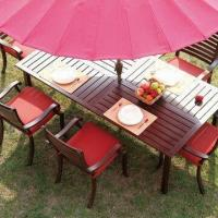 Buy cheap Cast aluminum dining set, high density foam cushion from wholesalers