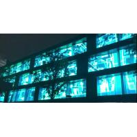 Buy cheap 1200 Nits P10.4 See Through Led Screens , Transparent Glass Led Display Easy from wholesalers