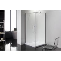 Buy cheap Square 6m Door Thickness Shower Enclosures Bathroom Shower Stalls Stripe Glass from wholesalers