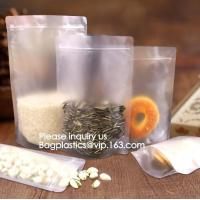 Buy cheap Biodegradable Eco Environmentally friendly Customized Standing Up Pouch aluminum foil vacuum empty tea bag for snack from wholesalers