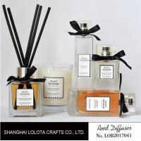 Wholesale Bathroom Fragrance Reed Diffusers , Strong Smelling Reed Diffuser For Large Room from china suppliers