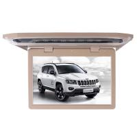 Buy cheap 1080P Lvds Led Car Roof Mount Monitor Laser Carving Touch Button With SD FM USB HD from wholesalers