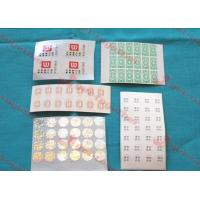 Buy cheap Customized Transparent Adhesive Labels For Bar Code Labels, Daily Chemical from wholesalers