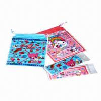 Buy cheap Fashion Bags for Children with Drawstring, Printed with Silkscreen, Available in Various Sizes from wholesalers