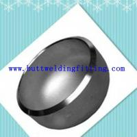 China Polished large diameter stainless steel pipe end caps for water conservancy on sale