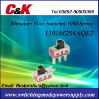 Buy cheap C&K 1101M2S4AQE2 Slide Switches(1000 Series) from wholesalers