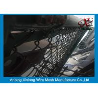 Buy cheap Black Chain Link Fence Panels For Basketball Ground 50 * 50 Mm Aperture from wholesalers