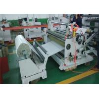 Rubber Plastic Film Slitting Machine PVC Roll Cutter Slitter In Sheet Metal Manufactures