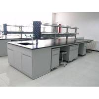 Buy cheap All Steel Lab Casework / Lab Workbench Furniture With Reagent Shelf from wholesalers