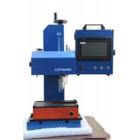 Buy cheap Green Metal Plate Engraving Machine , Dot Peen Engraving Machine Easy Operation from wholesalers