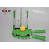 Wholesale Green Kids Table Tennis Set , Waterproof On The Go Ping Pong Travel Set from china suppliers
