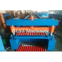 Buy cheap Steel Wave Color Steel Corrugated Color Steel Roof Sheet Roll Forming Machine from wholesalers