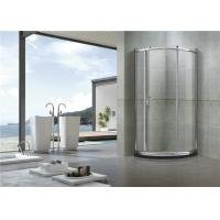Buy cheap Brushed All Arc Quadrant Shower Enclosures / Tempered Glass Shower Enclosure Kit from wholesalers