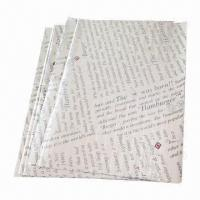 Buy cheap New Design Hamburger Papers with Bright Color Printing product
