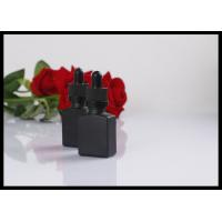 Buy cheap Fashion Matte Black Essential Oil Glass Dropper Bottle 15ml For Perfume Packing from wholesalers
