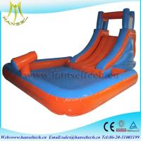Hansel high quality PVC material commercila inflatable bouncer slide inflatable play area for children Manufactures