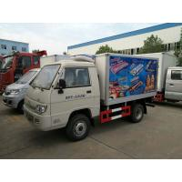 Buy cheap Mini Foton Refrigerated Delivery Truck , Refrigerator Van Truck 1000kg For Cold Drink from wholesalers