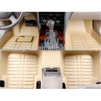 car Interior Accessories decorate red beige gray black PU leather car floor mat Manufactures