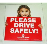 Buy cheap ESD Conductive Hygienic Corrugated Plastic Signs for Side Road Caution Sign from wholesalers