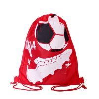 Wholesale Full Side Printed Polyester Drawstring Backpack , Outdoor Gym Sports Backpack from china suppliers
