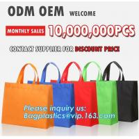 Buy cheap hot sealed non woven bag, cheap logo printed non woven shopping bag, Custom clear window document non woven bag, bagease from wholesalers