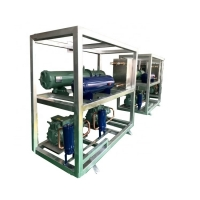 Buy cheap 8HP-40HP Cold room low temperature cascade unit Water-cooled refrigeration unit from wholesalers
