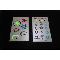 Buy cheap Special newest temporary tattoo, fluorescent tattoo sticker bright star from wholesalers