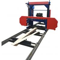 Buy cheap MJ1300 portable sawmill bandsaw diesel horizontal band swing blade sawmill from wholesalers