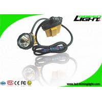 Buy cheap 10.4Ah Samsung Battery Mining Hard Hat Lights 25000lux Brightness 348lum from wholesalers