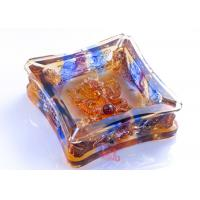 Buy cheap High Grade Colored Glaze Crafts / Ashtray For Living Rooms Dressing Table from wholesalers