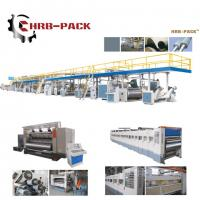 Buy cheap 2018 hot sale 3/5/7 Ply Corrugated Cardboard Production Line for carton box from wholesalers