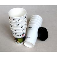 Wholesale 8oz 14oz 16oz Take Away Biodegradable Paper Cups , Customized Disposable Tea Cups from china suppliers