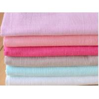 Buy cheap 55/45  LINEN COTTON FABRIC PLAIN DYED WITH SOLID COLOUR  CWT #317 from wholesalers