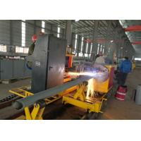 Buy cheap Durable Metal CNC Pipe Cutting Machine 10~5000 Mm/ Min Translation Speed from wholesalers