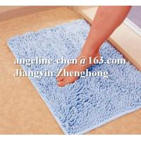 Buy cheap microfiber chenille non-slip floor bath mat from wholesalers