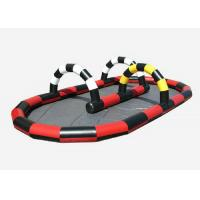 Wholesale Fire Retardant Inflatable Sports Toys 0.55mm Thickness Inflatable Race Track from china suppliers