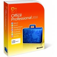 Buy cheap 2 GB RAM Microsoft Office 2010 Pro Plus Retail Box DVD Activation Easy Operation from wholesalers