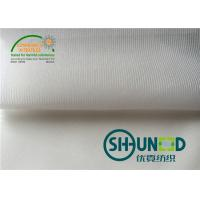 Wholesale Tricot Stretch Woven Fusible Interlining W1010 With Wet Finish For Casual Wear from china suppliers