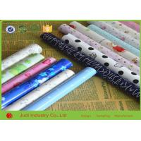 50mm Diameter Christmas Roll Wrapping Paper Color Optional For Box / Fruit Manufactures