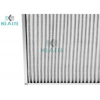 Buy cheap 24 X 24 X 2 Merv 8 Pleated Air Filters Hvac Protection G4 Eu4 Efficiency from wholesalers
