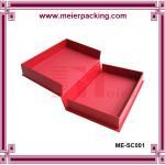 Buy cheap Lip clamshell box, eco friendly album paper box, custom printed photo album box ME-SC001 from wholesalers