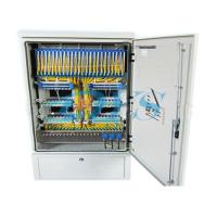 Two Layers Fiber Optic Terminal Box , Stainless Steel Distribution Cabinet Manufactures