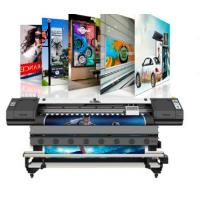 Buy cheap Digital wallpaper printing machine 1440dpi dx6 heads banner sticker flex printing eco solvent printer from wholesalers
