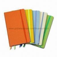 Buy cheap Elastic Notebook with 2mm Thickness and 70/80gsm Cover Inner Sheet, Customized Sizes are Welcome from wholesalers