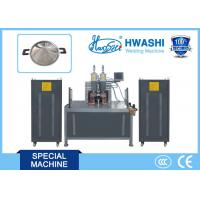 Buy cheap Hwashi CCC/ CE Qualified Horizontal Type Stainless Steel Pot Ear Welding Machine product