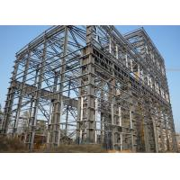 Buy cheap Large Span Heavy Architectural Structural Steel Portal Frame With Bridge Crane from wholesalers