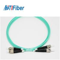 Buy cheap FC To FC Duplex Fiber Optic Network Cable Multi Mode OM3 50/125 Low Insertion Loss from wholesalers