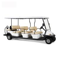 Buy cheap Electric 48V 12 Seater Golf Cart , Battery Powered Club Car Electric Golf Cart from wholesalers